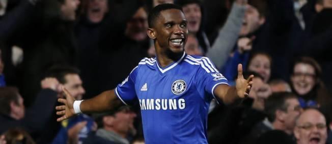 Football - Angleterre - Chelsea vs Man United (3-1): Eto'o éteint les Red Devils avec un triplé !