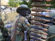 Soldat de l'armée du Soudan du Sud. REUTERS/James Akena