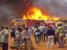 Un incendie d'une rare violence à Keur Laye