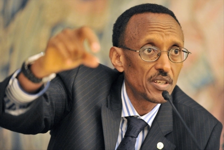 Le président de la République du Rwanda: Paul Kagamé