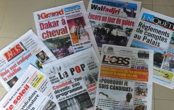 A L'attention de MADAME LA PRESSE SENEGALAISE