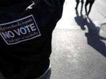 En Thaïlande, l'opposition entend bien perturber les élections de ce dimanche 2 février. REUTERS/Damir Sagolj