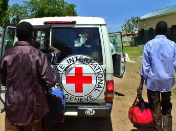 Le CICR affirme avoir aidé 1,5 million de personnes en 2013 au Soudan. AFP PHOTO/Waakhe WUDU