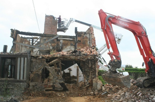 Démolition de maisons à Gadaye-Guédiawaye: Chaudes empoignades entre victimes et le promoteur immobilier
