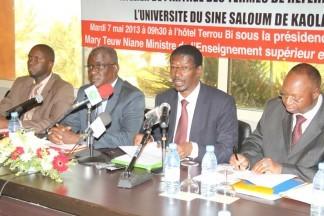 L'Université du Sine Saloum de Kaolack élargit son cercle de partenariat international