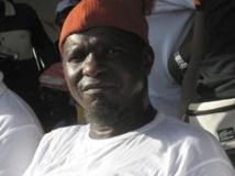 Kumba Yala, ex-dirigeant du PRS, soutient un candidat indépendant contre l'avis de parti. (Photo : Marie-Laure Josselin /RFI)
