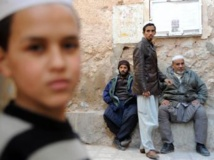 Des Algériens appartenant à la comunauté mozabites à Ghardaïa, 27 janvier 2014. Suzanne Basso a été exécutée au Texas hier soir. Cette handicapé