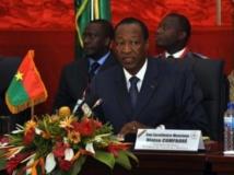 Blaise Compaoré, le président burkinabè, pourrait se représenter en 2015, si la Constitution est modifiée. Reuters