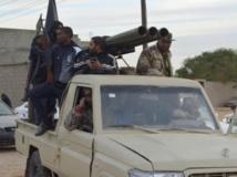 des membres de l'armée libyeinne, à Sabha, dans le sud de la Libye, considéré comme un nouveau sanctuaire du terrorisme. REUTERS/Saddam Alrashd