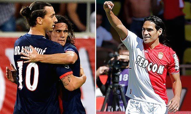 Dernière minute - Ligue 1 - Compo As Monaco vs PSG: Pastore préféré à Lavezzi, Ranieri joue l'offensive