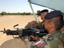 La présence française au Tchad devrait être renforcée de 300 hommes. AFP PHOTO / PASCAL GUYOT