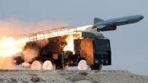 Lancement d'un missile iranien Saeqeh dans le sud de l'Iran, près du détroit d'Ormuz, en avril 2010. AFP PHOTO/FARS NEWS/MEHDI MARIZAD