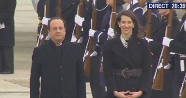 Hollande aux Etats-Unis : qui est la femme à côté du président ?