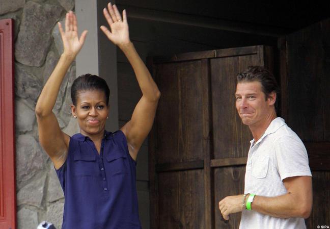 Michelle Obama, une première dame... béton