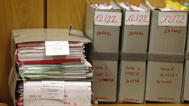 Les documents du procès Simbikangwa.