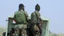 Des soldats de l'armée nigériane en patrouille contre les militants de Boko Haram