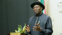 Le Président nigérian Goodluck Jonathan