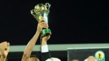 Le trophée de la Coupe de la Confédération