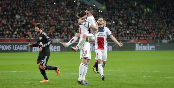 Ligue des champions Paris écrase Leverkusen (0-4)