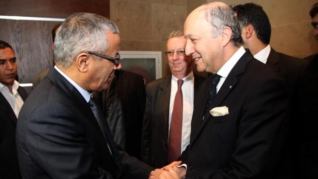 Libye – Entretien de M. Fabius avec M. Zeidan