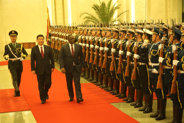 Acceuil exceptionnel : Macky Sall, empereur de Chine