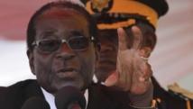 Robert Mugabe, président zimbabwéen, le 25 août 2013 à Harare. REUTERS/Philimon Bulawayo
