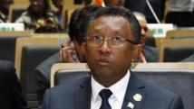 Le président malgache Hery Rajaonarimampianina à Addis-Abeba, en Ethiopie, le 30 janvier 2014. REUTERS/Tiksa Negeri