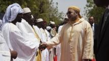 Le roi marocain Mohamed VI à Bamako, le 21 février 2014. REUTERS/Joe Penney