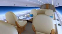 L'avion du futur sans hublot, mais avec une vue panoramique époustouflante