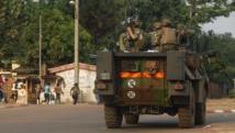 Des soldats français de l'opération Sangaris, à Bangui, le 18 février 2014. REUTERS/Luc Gnago