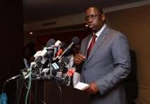 En pleine confèrence de presse à Paris: Macky pique une colère noire et se défoule sur un journaliste