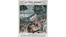 ouverture du «Petit Journal Illustré» (1924) sur la construction de la ligne de chemin de fer «Congo-Océan». Getty Images/UIG/Leemage