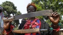Combattant anti-balaka, à Bangui, Centrafrique, le 22 février 2014. REUTERS/Luc Gnago