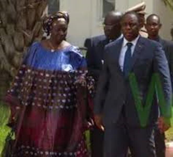Aminata Touré rend compte de ses actvités au président Sall