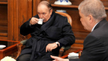 Une photo du président Bouteflika lors de sa première hospitalisation après un AVC à Paris.