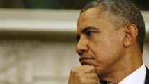 Pour Barack Obama, Vladimir Poutine, «ne trompe personne» sur l'Ukraine. REUTERS/Larry Downing