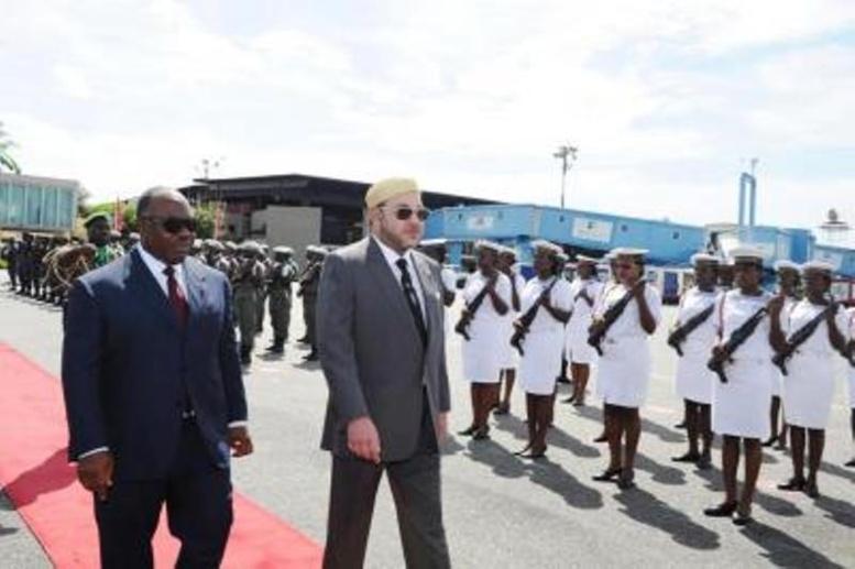 Quand l'arrivée du roi ''ramène'' de l'eau potable à Libreville