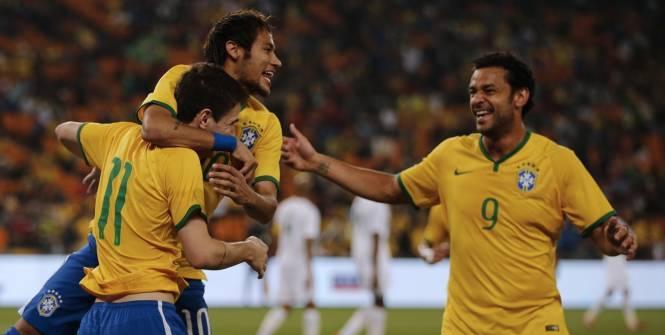Match amical - Le Brésil s'est promené sur l'Afrique du Sud, triplé de Neymar