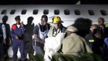 Le crash d'un avion de la compagnie CAA avait fait sept morts en mars 2013 à Goma. REUTERS/Sylvain Liechti/MONUSCO/Handout