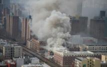 Dernière minute New York : deux immeubles s'écroulent après une explosion