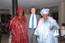 Visite du DG, Chef des opérations financières de la Banque mondiale : des femmes leaders en pôle position
