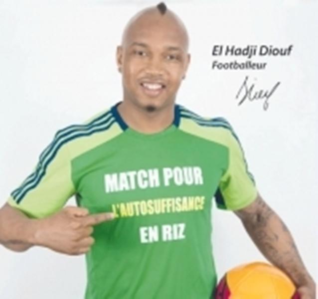 Campagne pour consommer le riz local : El Hadj Diouf tient sa promesse et mobilise Akon, Pape Diouf, Lissa, Titi Camara