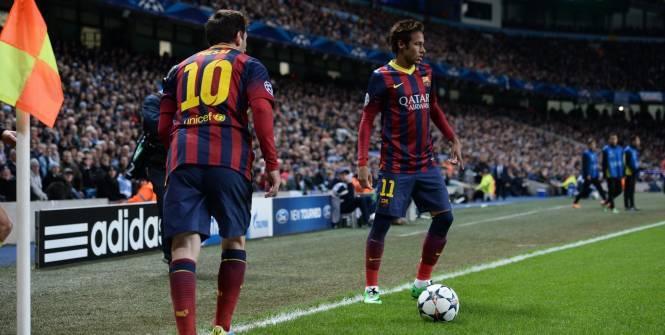 Le Barça de Neymar dos au mur