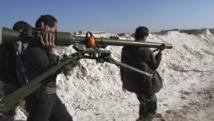 Des combattants de l'Armée syrienne libre, le 20 mars 2014.