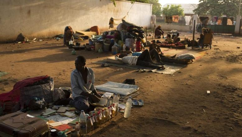 Dans le quartier du PK5 de Bangui, demeurent les derniers musulmans de la capitale.