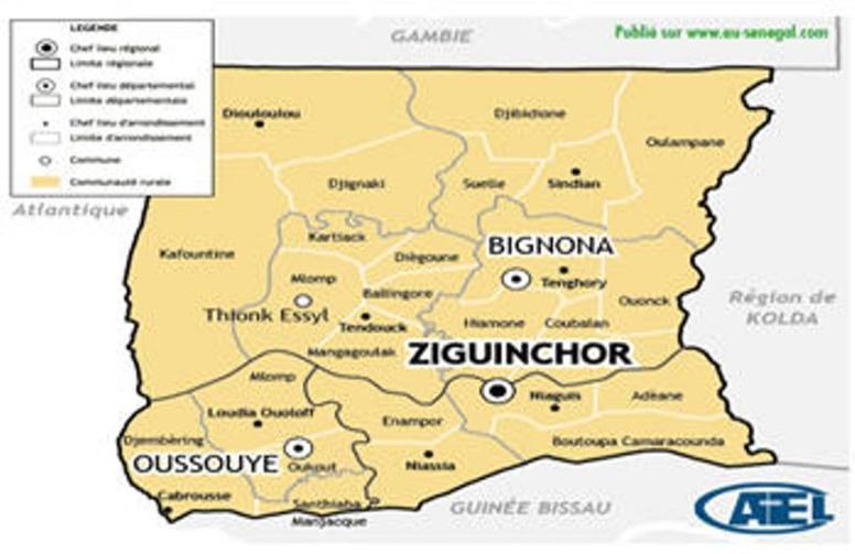 Virus Ebola à Conakry : Ziguinchor et Oussouye se barricadent