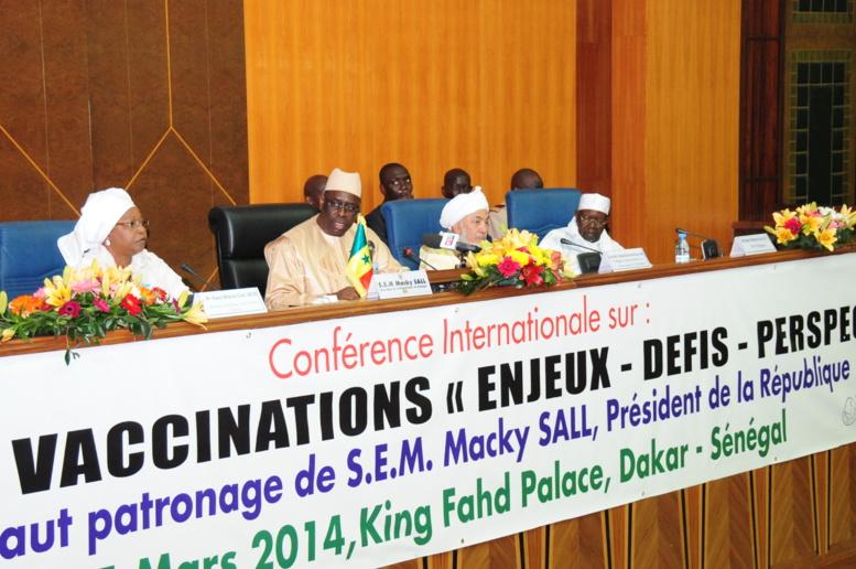 Macky Sall, « Il n'est plus acceptable qu'au XXIe siècle des enfants innocents continuent de mourir de maladies évitables par la vaccination »