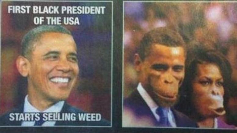 Un journal belge caricature les Obama en singes, puis s'excuse