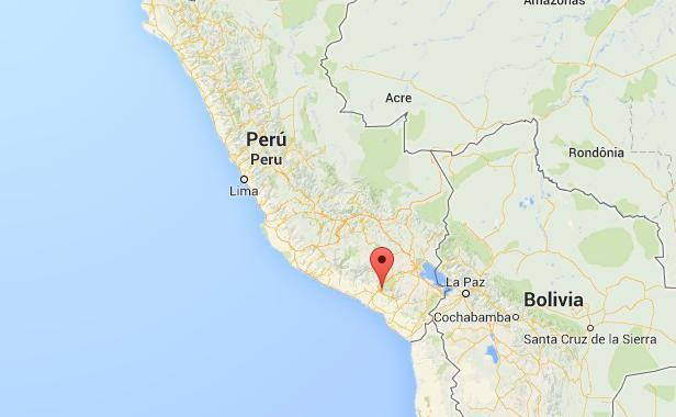 Pérou: Une petite fille vit avec huit aiguilles dans le corps
