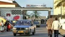 Entrée du centre hospitalier gabonais de Libreville.